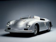 Porsche 356 Spyder | More here: http://mylusciouslife.com/stylish-home-luxury-garage-design/