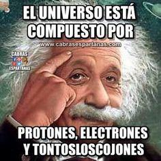 Universo está compuesto por muchos elementos