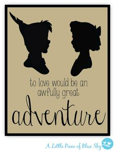 To Love would be an Awfully Great by LittlePieceofBlueSky on Etsy, $15.00