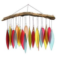 Leaf and Driftwood Chime
