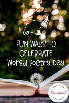 Fun Ways to Celebrate World Poetry Day