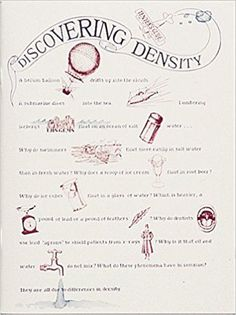Discovering Density (Great Explorations in Math & Science) by Jacqueline Barber Science Education, Student Learning, Bullet Journal, Math, Teacher's Guide, Flow, Math Resources, Mathematics