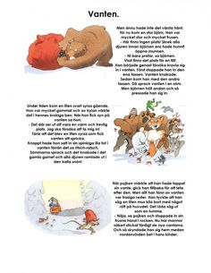 Mariaslekrum - Illustrerade sagor. Learn Swedish, Swedish Language, Educational Activities For Kids, Pre School, Drama, Danish Language, Projects, Creative, Drama Theater