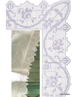 crochet - bicos - barrados - edgings - Raissa Tavares - Picasa Web Albümleri