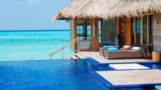 Wallpaper Brown Wooden Floating Cottage, Maldives, Resort Vacation Destinations, Dream Vacations, Vacation Spots, Most Romantic Places, Beautiful Places, Beautiful Castles, Beautiful Islands, Beautiful World, Maldives Voyage