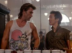 """""""You think you can waltz in and out of here like the wind... yes, I thought that was your whole damn point."""" (Big Trouble In Little China)"""