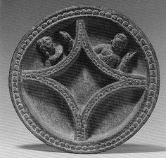 Dish with Busts of a Man and Woman