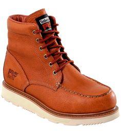 Chaussures de sécurité Timberland Pro Wedge SBP E HRO SRC brunes