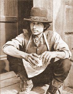 Bob Dylan...love this pic.