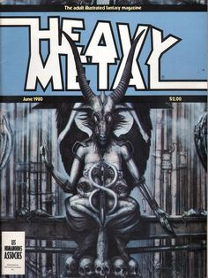 Heavy Metal June 1980 - EphemeraForever.com