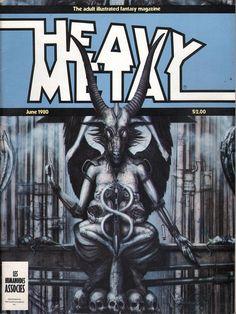 Heavy Metal June 1980 - EphemeraForever.com