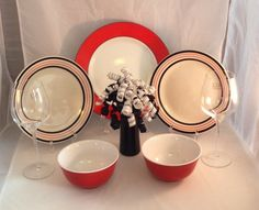 A personal favorite from my Etsy shop https://www.etsy.com/listing/271574446/romance-a-complete-designer-dinnerware