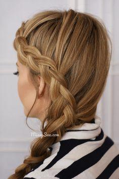 Dutch #headband #braid via #missysue, #hair