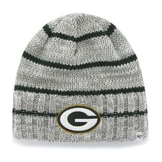 a206ed4a3 Green Bay Packers Mcmahon Beanie Gray 47 Brand Hat Heather Grey