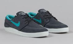 "908cc1660d3a0f Nike SB Lunar Stefan Janoski ""Anthracite   Dusty Cactus"" Nike Sb Shoes"