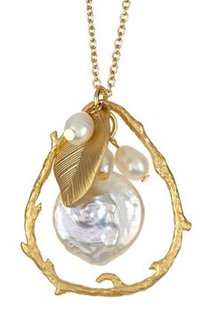 Midsummer Pearl Necklace
