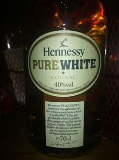 Hennessy Pure White - this guy is taking offers! Not available in the US! #hennessy #purewhite @thebottlespot