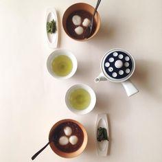 Rice-flour dumpling thick bean-meal soup with green tea homemade コトコト煮込んだ おぜんざい 生姜汁を少しと白玉を浮かべて できあがり ちょっと昭和な気分です #teatime #tea #teastagram #tealover #greentea #japanesesweets #happy #onthetable #oshiruko #zenzai #homemade #japanesetea #煎茶 #白玉ゼンザイ #ぜんざい #オシルコ #日本茶 #自家製 #白玉 #ティータイム #organic #wa #wagashi #beans #おやつ by alfadolphina