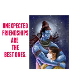 Unexpected Friendship, Better One, Lord Shiva, Movies, Movie Posters, Film Poster, Films, Popcorn Posters, Film Posters