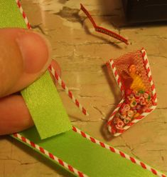 Kendra's Minis: TUTORIAL -Candy Tubes, Candy Cards, Stockings