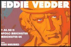 Eddie Vedder Poster by Kozik