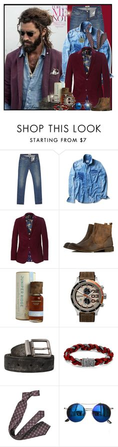 """For Maximilian"" by anne-977 ❤ liked on Polyvore featuring Acne Studios, MANGO, Gucci, Bertie, Juniper Ridge, Diesel, Dolce&Gabbana, John Hardy, Chicnova Fashion and men's fashion"