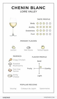Chenin Blanc is a gorgeous wine you might want to learn more about! Read our illustrated guide to Chenin Blanc to learn Guide Vin, Wine Guide, Chenin Blanc, Wine And Cheese Party, Wine Tasting Party, Wine Cheese, Boot Camp, Coteaux Du Layon, Wine Party Appetizers