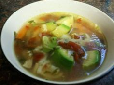 ... Food on Pinterest | Tortilla Soup, Mexicans and Chicken Rice Soup
