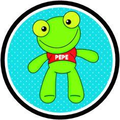 Divertido kit para Imprimir Gratis de Sapo Pepe.