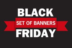 Black Friday discount vector banner @creativework247
