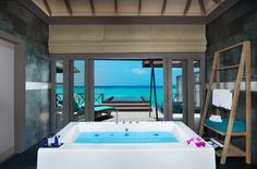A bathroom with a view? Sure, in the Maldives at #JAManafaru !