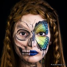 Шокирующий макияж от Эльзы Райе