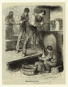 """""""Glass-Blowing."""" 1883. The New York Public Library Digital Collections. 1883. http://digitalcollections.nypl.org/items/510d47e1-3740-a3d9-e040-e00a18064a99"""