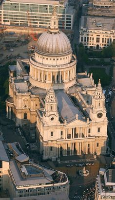 St Pauls Cathedral - 365 feet high to the top of the dome - completed in 1710