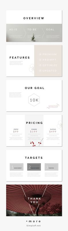 Modern & Clean Keynote Presentation Template #template #oriental #solutions #pricing #marketing #proposal