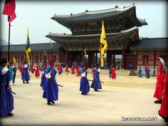 Gyeongbokgung Palace Seoul Korea.. all though beautiful and had a lot to see Korea was by far the dirtiest place I've been to or lived.