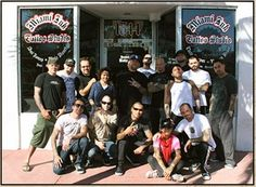 """Miami Ink"" aka: Love & Hate Tattoo Studios Tatto Artists; Including Ami James and Chris Nunez."