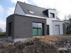 enduit facade maison moderne - Recherche Google Couleurs facades ...