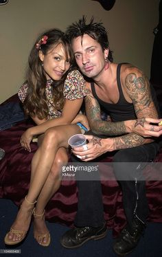 Tommy Lee and new girlfriend Mayte backstage during Live and Almost Legal - Backstage. MTV celebrated with a three-hour live party with special guests, performances, and highlights from the. Get premium, high resolution news photos at Getty Images Mayte Garcia, Prince And Mayte, Prince Images, Tommy Lee, New Girlfriend, Roger Nelson, Prince Rogers Nelson, Vintage Makeup, Rock Legends
