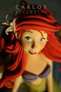 Ariel made of sugar!