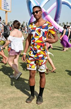 Just love this guy, love Coachella festival, love California and love fashion!