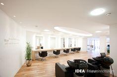 www.idea-friseure... #hair #beauty #salon #furniture #design #idea #friseureinrichtung #friseur #Einrichtung #luxury #hairdresser #Haare #Friseuren #style #Coiffeur #stylisch #waschbecken #wand #beschriftung #arbeitsplätze #supermodern #hingucker #hohedecke