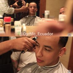 """""""La barbería, el lugar más lleno después del escenario"""" ✌DY . Así empezamos el d Instagram"""