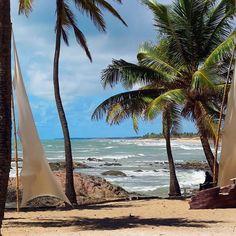 O mar quando quebra na praia É bonito é bonito. Essa malemolência esses coqueiros.... Caymii sabia das coisas