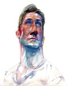 Ryan Gosling by Brad Gresham