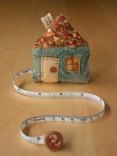 House Tape Measure 2 by PatchworkPottery, via Flickr