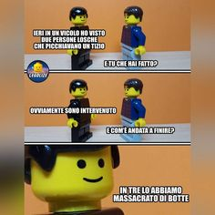 (notitle) - miki-ah ah ah! Lego Humor, Lego Memes, Pokemon Lego, My Pokemon, Star Wars Toys, Lego Star Wars, Funny Images, Funny Pictures, Haha