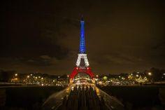 Parigi: il tricolore francese illumina la Torre Eiffel | FOTO - Galleria Fotografica - MetropolisWeb