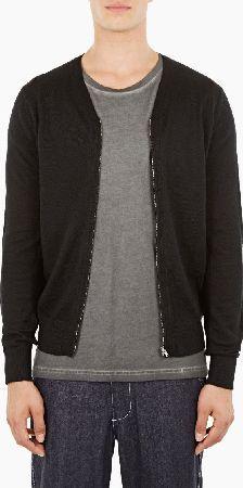 january 2017 6 comme des garcons shirt black zip up cardigan Black Zip Ups, Slim, Mens Fashion, Wool, Sweaters, January, Shirts, Moda Masculina, Man Fashion