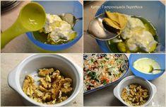 Απλή λαχανοσαλάτα σκέτη ή με σάλτσα γιαουρτιού - cretangastronomy.gr Tacos, Mexican, Breakfast, Ethnic Recipes, Food, Morning Coffee, Essen, Meals, Yemek